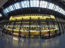 Tate Modern Turbine Hall in London Stock Image