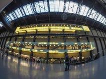 Tate Modern Turbine Hall in London Stock Photography