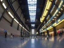 Tate Modern Turbine Hall in London Royalty Free Stock Image