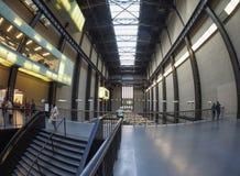 Tate Modern Turbine Hall in London Stock Photos