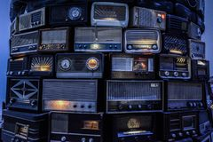 Tate moderna radior royaltyfria bilder