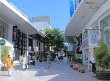 Tatemachi-Einkaufssäulengang Kanazawa Japan Lizenzfreie Stockfotos