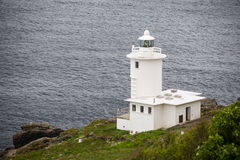 Tater du lighthouse in cornwall england uk Royalty Free Stock Image