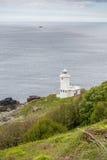 Tater du lighthouse in cornwall england uk Stock Image