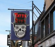 Tater Red's Blues Cafe, Beale Street Memphis, Tennessee Royalty Free Stock Photo