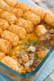 Tater Tot Casserole Royalty Free Stock Photography