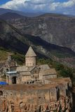 Tatev修道院在亚美尼亚南部 库存图片