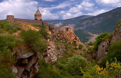 Tatev. Is the famous monastery in Armenia Royalty Free Stock Image