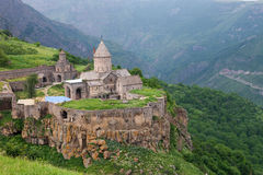 Tatev ancient monastery in Armenia Royalty Free Stock Image