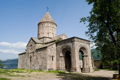Tatev church stock image