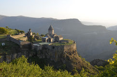 Tatev kloster Royaltyfri Fotografi