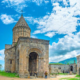In Tatev Moastery Royalty Free Stock Photography