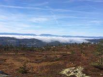 tateyama ΑΜ βουνών της Ιαπωνίας φθινοπώρου Στοκ Εικόνες
