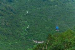 Tateyama-Drahtseilbahn Stockbild