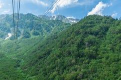 Tateyama-Drahtseilbahn Lizenzfreie Stockfotografie