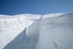 Tateyama Kurobe in alpi giapponesi, Giappone Immagini Stock