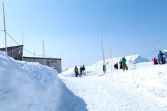 Tateyama Kurobe in alpi giapponesi, Giappone Fotografia Stock Libera da Diritti