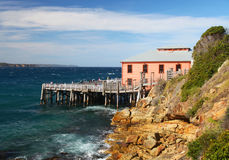 Tathra wharf in NSW, Australia Royalty Free Stock Photo