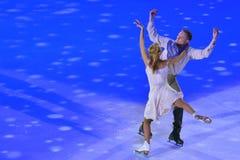 Tatiana Navka and Roman Kostomarov Royalty Free Stock Photos