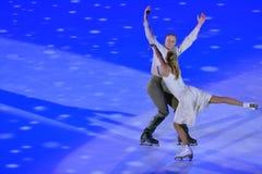 Tatiana Navka and Roman Kostomarov Stock Photography