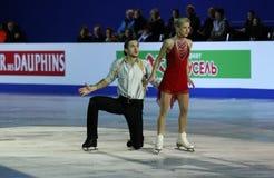 Tatiana VOLOSOZHAR / Maxim TRANKOV Gala Royalty Free Stock Photo