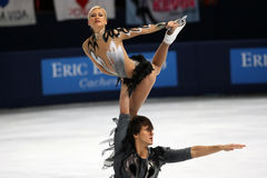 Tatiana VOLOSOZHAR / Maxim TRANKOV (RUS) Stock Images