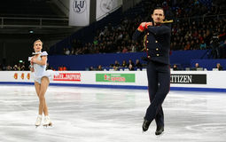 Tatiana VOLOSOZHAR / Maxim TRANKOV (RUS) Stock Photo