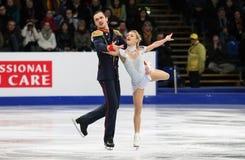 Tatiana VOLOSOZHAR / Maxim TRANKOV (RUS) Royalty Free Stock Photos