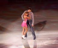Tatiana Volosozhar and Stanislav Morozov (UKR) Royalty Free Stock Image