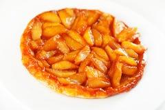 Tatin της Apple tarte Στοκ Φωτογραφία