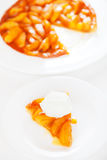 Tatin της Apple tarte Στοκ εικόνα με δικαίωμα ελεύθερης χρήσης