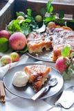 Tatin της Apple tarte Στοκ Εικόνα