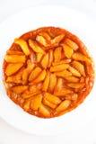 Tatin del tarte de Apple Fotografía de archivo