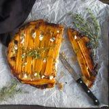 Tatin del tarte della carota Immagini Stock Libere da Diritti