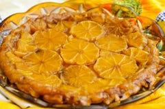 Tatin della torta degli aranci Fotografia Stock