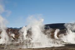 tatio гейзера поля Чили el Стоковые Фото