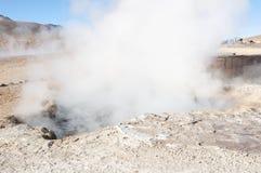 tatio гейзера поля Чили el Стоковое Изображение RF