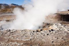 tatio гейзера поля Чили el Стоковое фото RF