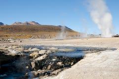 tatio гейзера поля Чили el Стоковое Фото