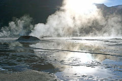 Tatio Gaysers Royalty Free Stock Images