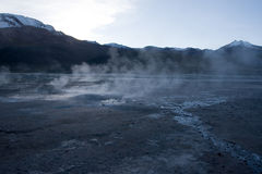 Tatio gerysers Royalty Free Stock Photo