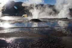 Tatio gerysers Stock Photos