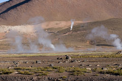 Tatio gerysers Royalty Free Stock Photography