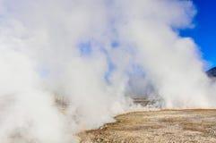 Tatio Geysers in Atacama Desert, Chile Stock Photography
