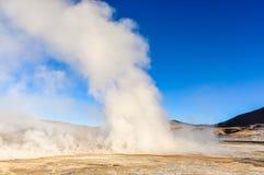 Tatio Geysers in Atacama Desert, Chile Stock Image