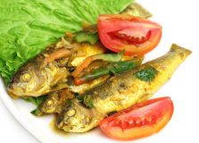 Tatkini fish curry of Indian subcontinent Stock Photos
