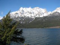 Tatlayoko lake Royalty Free Stock Photos