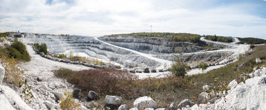Tatlock Quarry Stock Photo