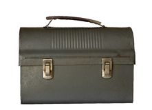 tato lunchbox jest stary Obrazy Stock