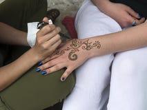 tatoegering Royalty-vrije Stock Foto